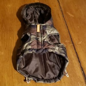 Simply Dog XXS Scull Puffer Jacket
